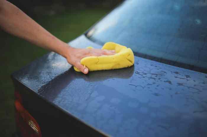 Save Water When Washing Car